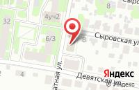 Схема проезда до компании Сервисная мастерская в Подольске