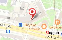 Схема проезда до компании Стром-4 в Москве