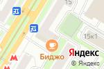 Схема проезда до компании 13 Оттенков любви в Москве