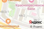 Схема проезда до компании Федеральная служба охраны РФ в Москве
