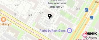 Юго-Запад на карте Москвы