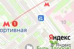 Схема проезда до компании Арт-Дент в Москве