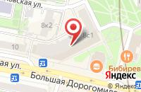 Схема проезда до компании Книгиру в Москве
