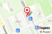 Схема проезда до компании Восход Бизнес Групп в Москве