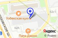 Схема проезда до компании АВТОМАГАЗИН АПИС-М в Москве