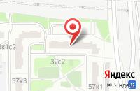 Схема проезда до компании Этажерка в Москве