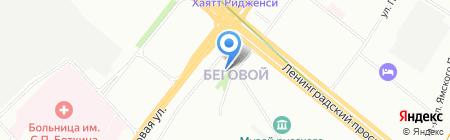 Кадетская школа №1784 с дошкольным отделением на карте Москвы