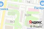 Схема проезда до компании бассейнмаг.рф в Москве
