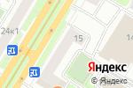 Схема проезда до компании Азия кафе в Москве