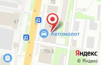 Схема проезда до компании Suzuki в Подольске