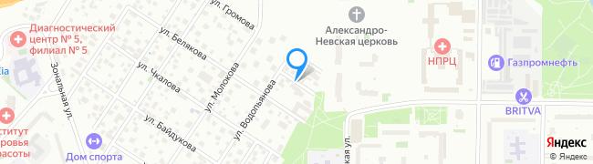 улица Фёдорова