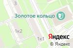 Схема проезда до компании КБ Первый инвестиционный в Москве