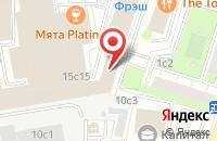 Схема проезда до компании Гроннекс в Москве