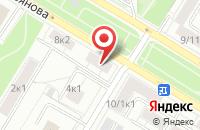 Схема проезда до компании Профстройальянс в Москве