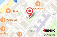 Схема проезда до компании Карментур Продакшн в Москве