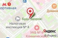 Схема проезда до компании МТК в Казинке