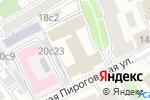 Схема проезда до компании КОРАЛ ТРЕВЕЛ в Москве