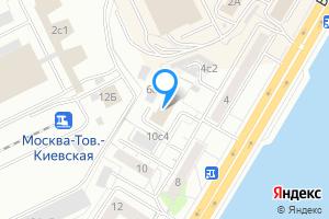Двухкомнатная квартира в Москве Бережковская наб., 6