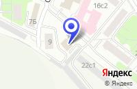 Схема проезда до компании ПРОИЗВОДСТВЕННАЯ ФИРМА ИЗМЕРИТЕЛЬНЫЕ ПРИБОРЫ ХАНВЕЛЛ в Москве