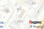 Схема проезда до компании ПроектИнвест-1 в Москве