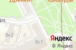 Схема проезда до компании Радиоэкспорт в Москве