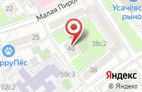 Схема проезда до компании Марко в Москве