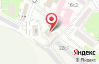 Схема проезда до компании Авиакомпания  в Москве