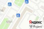 Схема проезда до компании LURGI-CHEMNITZ в Москве