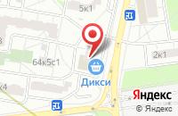 Схема проезда до компании Фрагонар в Москве