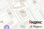 Схема проезда до компании Хамельтон Стандарт-Наука в Москве