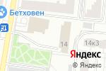 Схема проезда до компании Инвитек Холдинг АГ в Москве