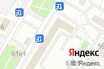 Схема проезда до компании Асберг АС в Москве