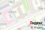 Схема проезда до компании Авиакапитал-сервис в Москве