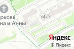 Схема проезда до компании Автомобильный технический центр Орион в Москве