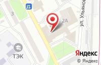Схема проезда до компании Комфорт в Подольске