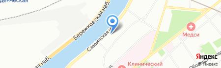 Японский Дом на карте Москвы