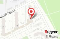 Схема проезда до компании СК в Подольске