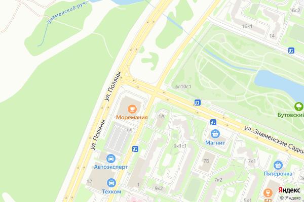 Ремонт телевизоров Улица Куликовская на яндекс карте