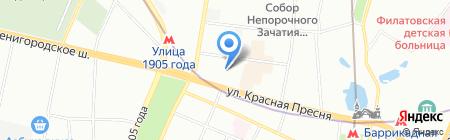 Поликлиника.ру на карте Москвы