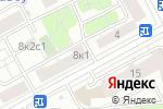 Схема проезда до компании Белком в Москве