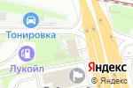 Схема проезда до компании АЗС Навтосервис в Москве