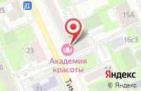 Схема проезда до компании Производственно-Коммерческая Фирма «Снежинка» в Москве