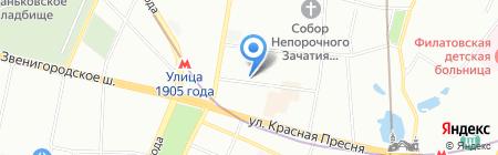 Дзёсинмон серинрю на карте Москвы