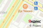 Схема проезда до компании Мир эпиляций в Москве