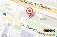 Схема проезда до компании Торгово-экипировочный центр  в Москве