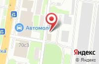 Схема проезда до компании Фосс Металл в Подольске