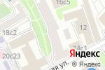 Схема проезда до компании АльфаСити в Москве