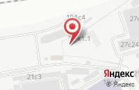 Схема проезда до компании Никастройинвест в Москве