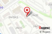 Схема проезда до компании Корпорация Знак в Москве