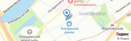 НеоВейтус на карте Москвы